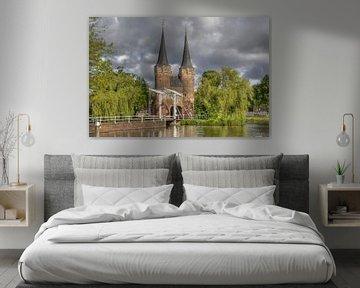 Oostpoort in Delft von Jan Kranendonk