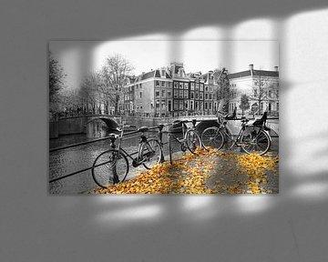Grachten Amsterdam von Dries van Assen
