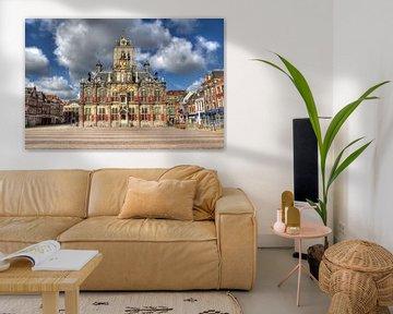 Stadhuis van Delft von Jan Kranendonk