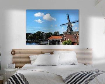 Hollandse windmolen  von Erik Koks