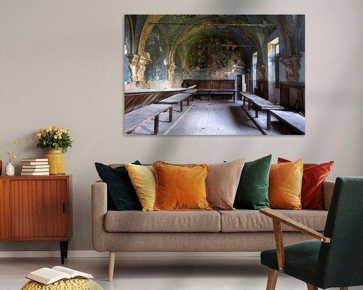 Beispiel: Verlassene Kapelle. von Roman Robroek