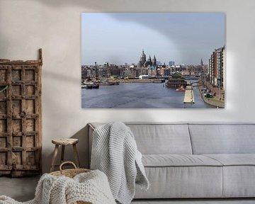 Amazing shot of the Oosterdok's canal in Amsterdam von Hernani Costa