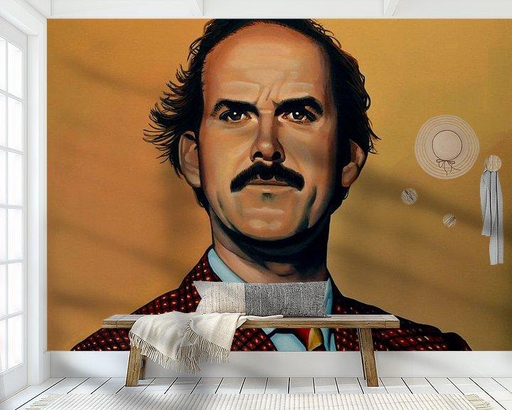 Sfeerimpressie behang: John Cleese Schilderij van Paul Meijering