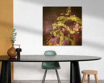 aerodynamica modern art work 3 digitale art fantasie block van Groothuizen Foto Art