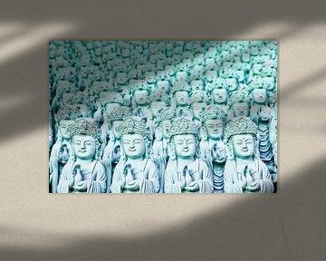 Vele Boeddha's. van Steve Van Hoyweghen