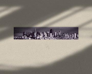 San Francisco City Skyline van Wouter Goedvriend