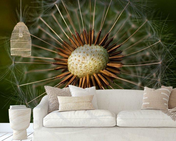 Sfeerimpressie behang: Horse-flower van Rob van der Teen