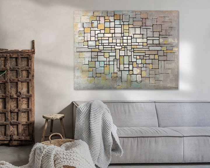 Beispiel: Piet Mondriaan No. 11