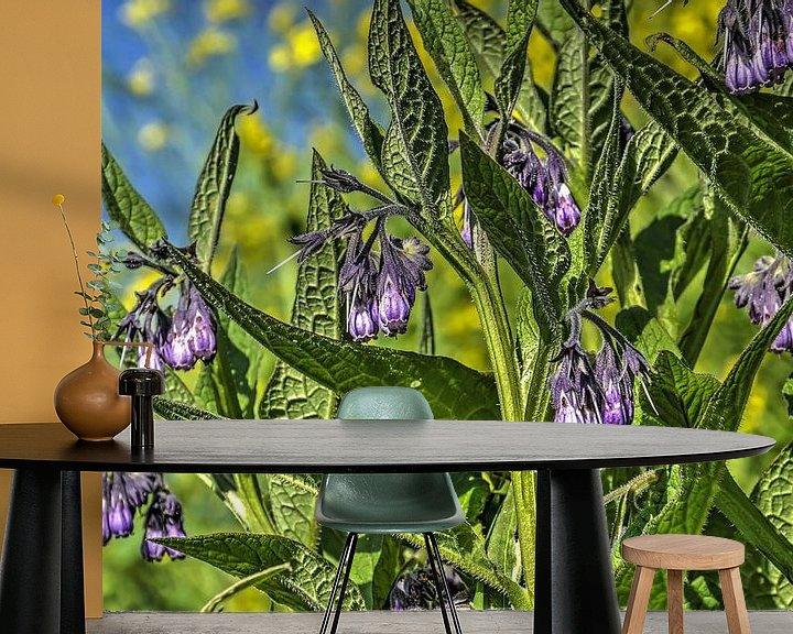 Sfeerimpressie behang: Smeerwortel van Frans Blok