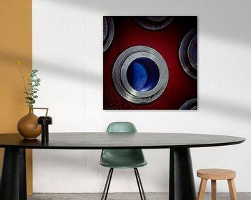 Red and Blue von Rob van der Teen