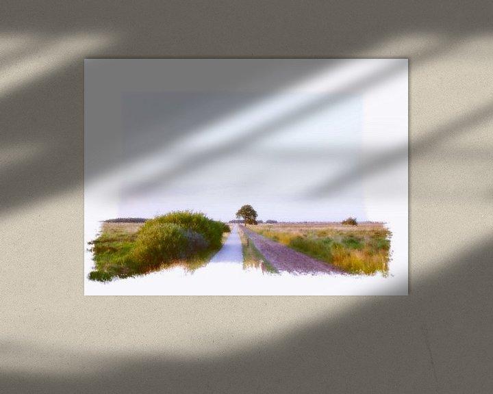 Sfeerimpressie: Dwingeloo Moor  van Pim Feijen
