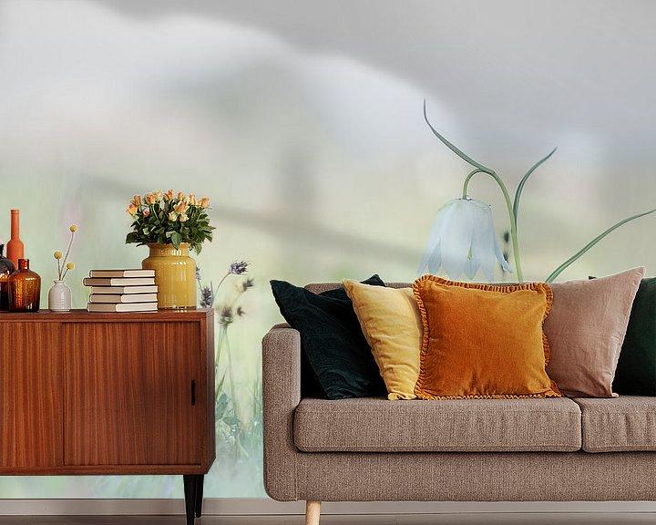 Sfeerimpressie behang:  Enjoying Wild in Spring van Frensis Kuijer
