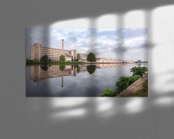 Sfeerimpressie: Van Nelle tijdens zonsopkomst. van Prachtig Rotterdam
