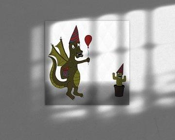 Verjaardagdraak von Dennis Michels