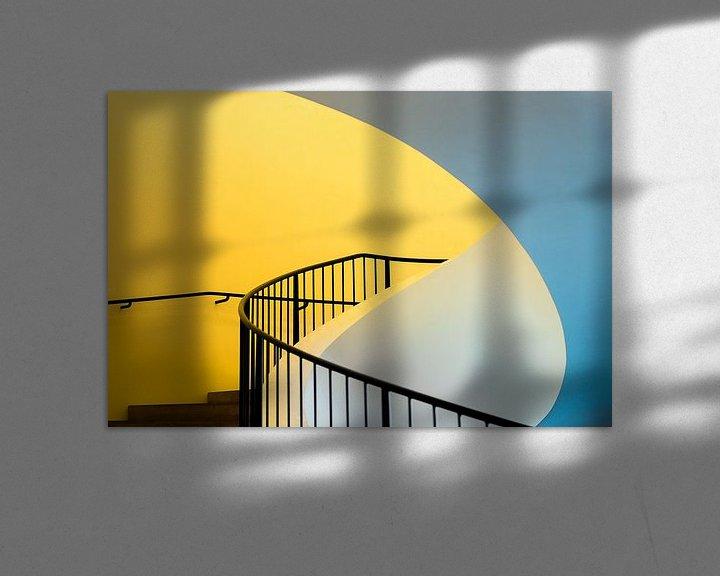 Sfeerimpressie: Gele trap van Maerten Prins
