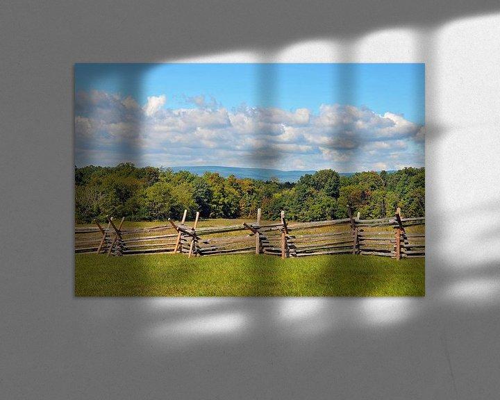 Sfeerimpressie: Gettysburg Barricade van Paul van Baardwijk