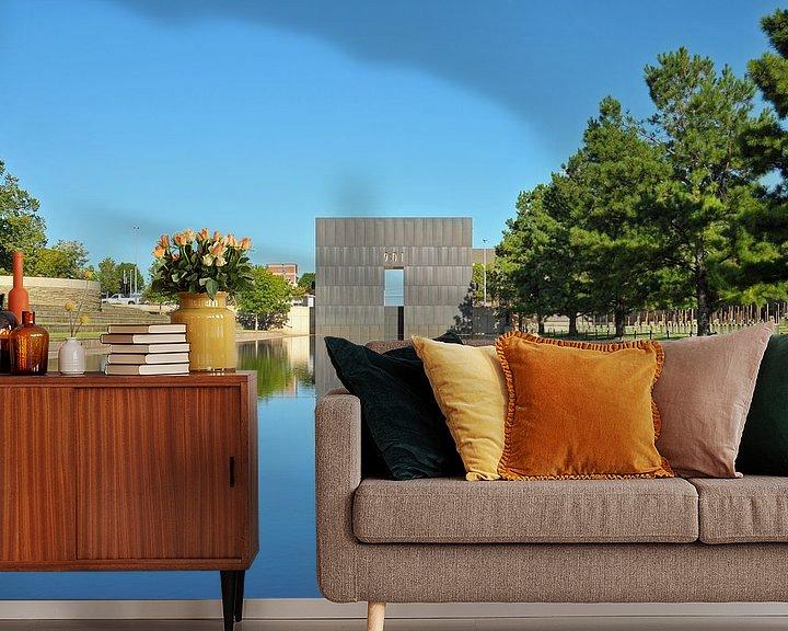 Sfeerimpressie behang: Oklahoma Reflections van Paul van Baardwijk
