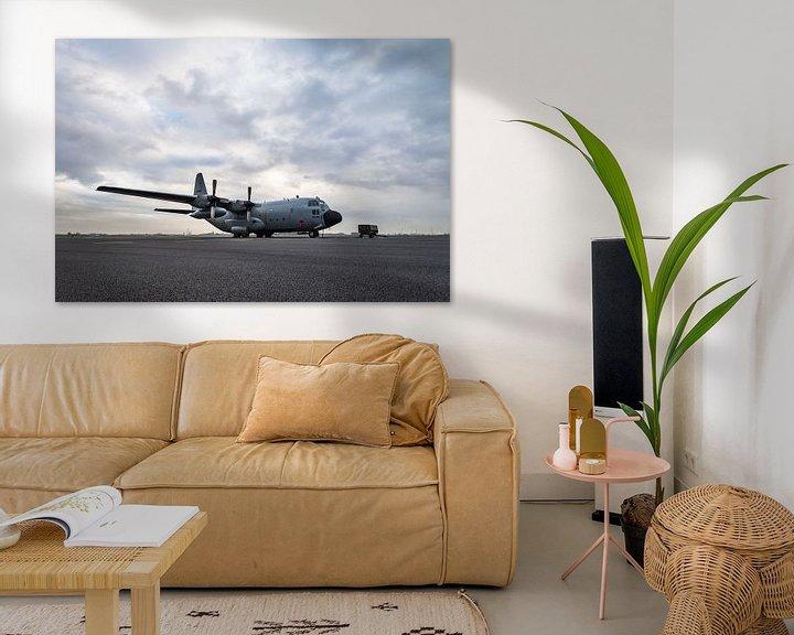 Sfeerimpressie: C-130 Hercules Belgische luchtmacht van Kris Christiaens