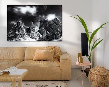 Dolomiten - Val di Funes - Fine Art von Vincent Fennis