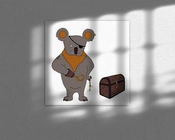 Koala Piraat von Dennis Michels