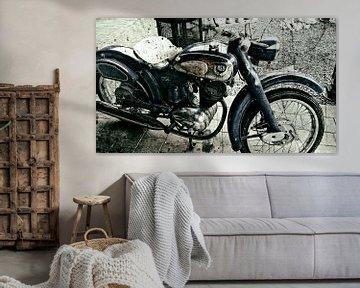 NSU oldtimer motorfiets. van PictureWork - Digital artist