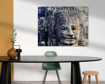 Verweerd gezicht, Angkor Thom