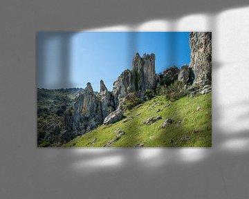 rotsen in andalusie spanje van Compuinfoto .