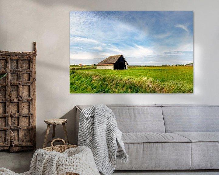Sfeerimpressie: schapenboet Texel Zuid-Haffel van Texel360Fotografie Richard Heerschap