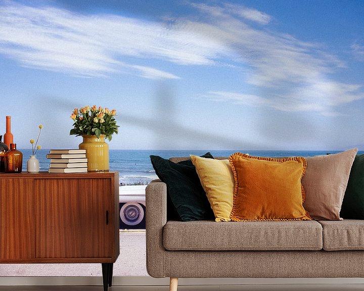 Sfeerimpressie behang: Summer in California van Bas Koster