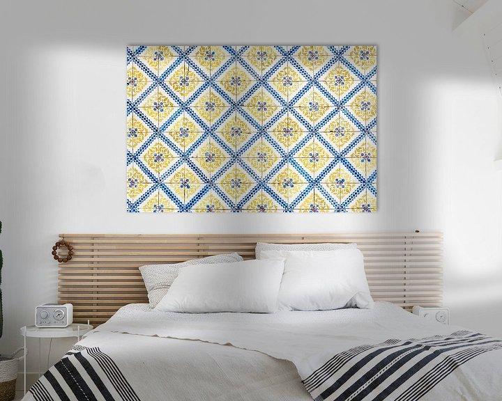 Sfeerimpressie: Gele tegels van Lissabon van Ronne Vinkx
