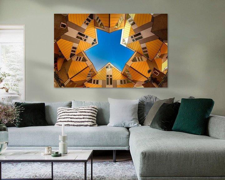 Sfeerimpressie: Kubuswoningen Rotterdam van Ronne Vinkx