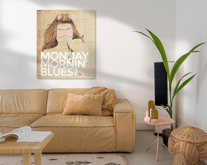 Sfeerimpressie: Monday Mornin' Blues van Anne Oszkiel-van den Belt