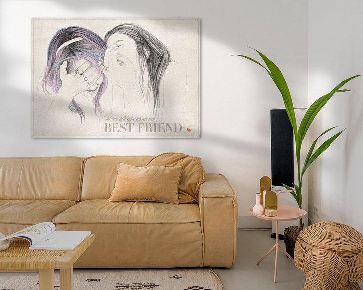 Sfeerimpressie: Best Friend van Anne Oszkiel-van den Belt