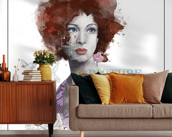 Sfeerimpressie behang: Picture Perfect van Anne Oszkiel-van den Belt