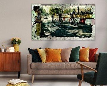 Fabian Cancellara. von PictureWork - Digital artist