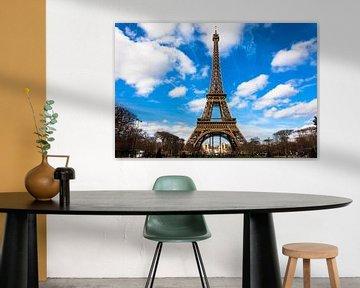 Eiffeltoren van Vincent van den Hurk