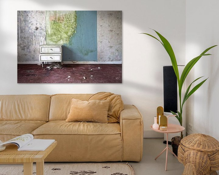 Sfeerimpressie: Kastje aan de muur van Marcel van Balken