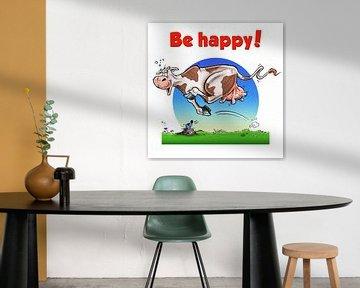 Be Happy Koe van Stan Groenland