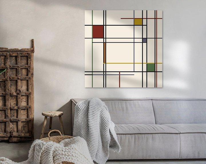 Beispiel: Lines-Piet Mondrian von Marion Tenbergen