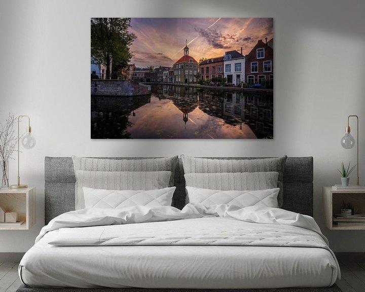 Sfeerimpressie: Zakkendragershuisje Schiedam van Bram Kool
