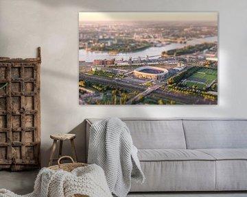 Luchtfoto Stadion Feyenoord - De Kuip