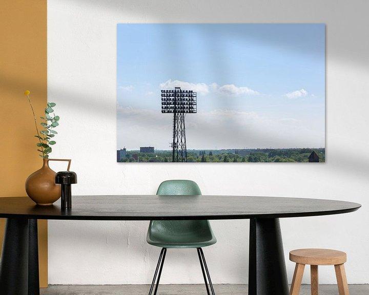 Sfeerimpressie: Stadion Feyenoord / De Kuip Lichtmast II van Prachtig Rotterdam