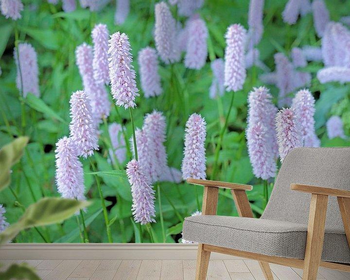Sfeerimpressie behang: Adderwortel in bloei van Ronald Smits