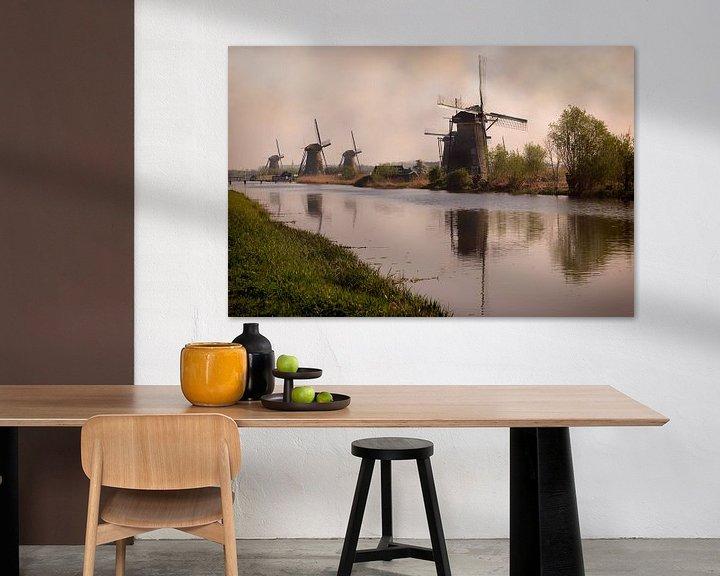 Beispiel: Mills at Kinderdijk von Tim Abeln