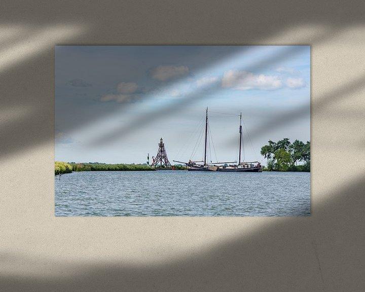 Impression: Vanuit de VOC haven naar open water sur Eric de Kuijper