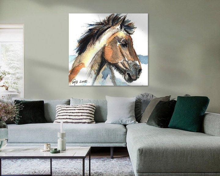 Beispiel: Pferd Jeremy von Go van Kampen