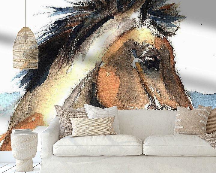 Beispiel fototapete: Pferd Jeremy von Go van Kampen