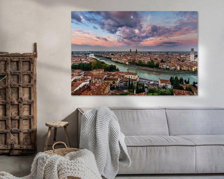Sfeerimpressie: Verona, Italie  van Thomas Bartelds