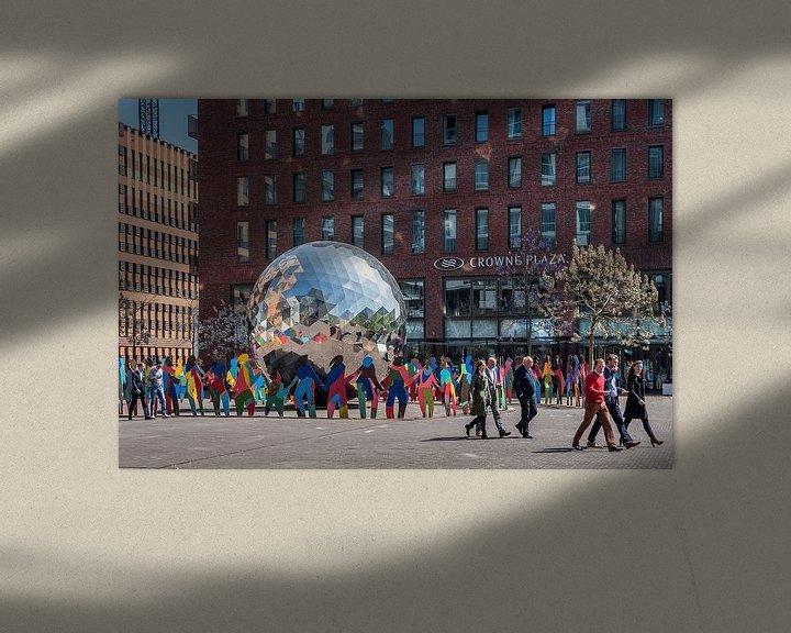 Sfeerimpressie: George Gershwin Plein Amsterdam van Hans Hebbink