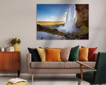 Seljalandsfoss von Ronne Vinkx